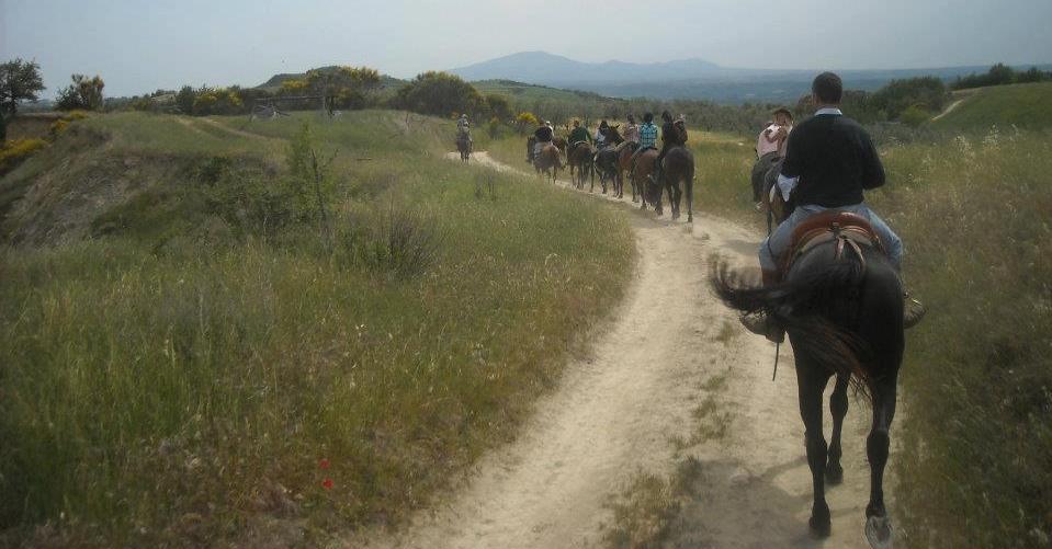 Passeggiate a cavallo ad Amelia